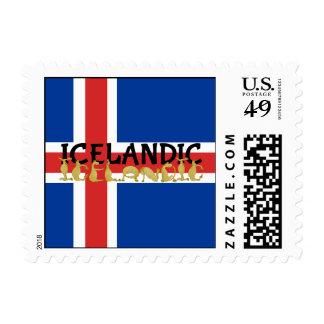 Icelandic Horse | Flag of Iceland Postage