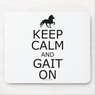 Icelandic Horse Keep Calm Gait On Mousepad