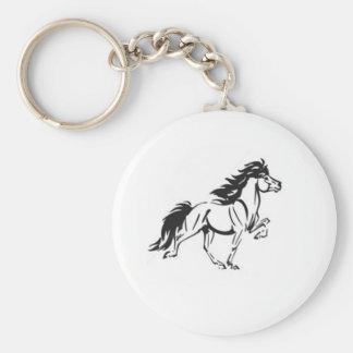 Icelandic Horse Keychain