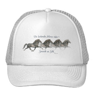 Icelandic horses are smooth as Silk ~ Ball cap Hat