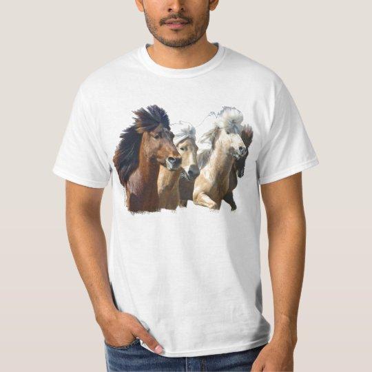 Icelandic Horses T-Shirt