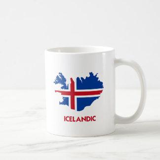ICELANDIC MAP COFFEE MUG