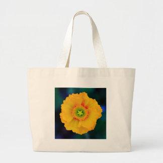Icelandic Poppy Large Tote Bag