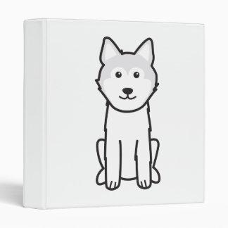 Icelandic Sheepdog Dog Cartoon Binder
