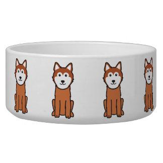 Icelandic Sheepdog Dog Cartoon Dog Food Bowls
