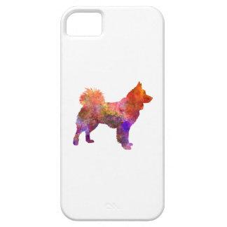 Icelandic Sheepdog in watercolor iPhone SE/5/5s Case