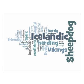 Icelandic Sheepdog Postcard