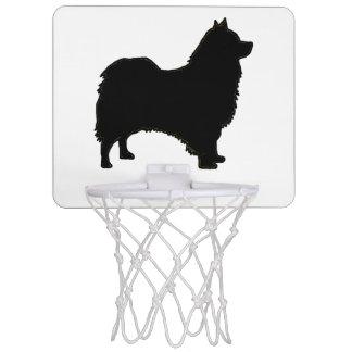 Icelandic Sheepdog silo black.png Mini Basketball Backboard