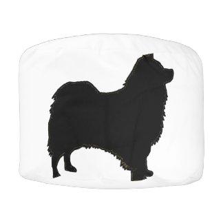 Icelandic Sheepdog silo black.png Pouf