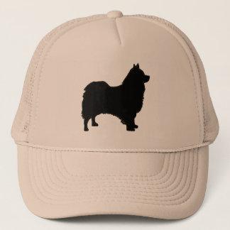 Icelandic Sheepdog silo black.png Trucker Hat