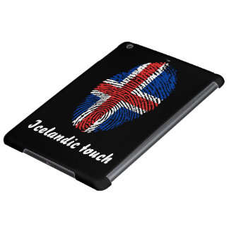 Icelandic touch fingerprint flag cover for iPad air