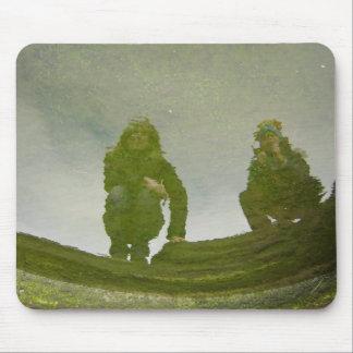 Icelandic trolls mouse pad