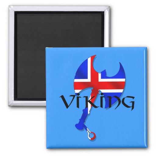 Icelandic Viking gifts for Iceland lovers worldwid Magnet