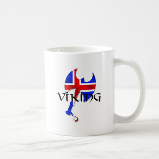 Icelandic Viking gifts for Iceland lovers worldwid Classic White Coffee Mug