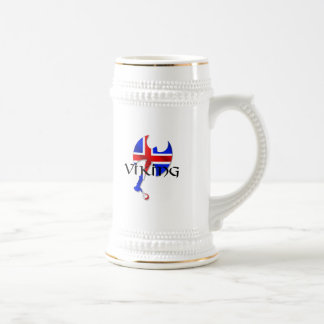 Icelandic Viking gifts for Iceland lovers worldwid 18 Oz Beer Stein