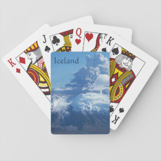 Icelandic Volcano Eruption Playing Cards