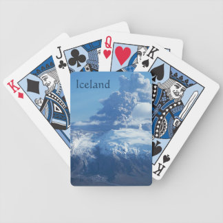 Icelandic Volcano Eruption Bicycle Playing Cards