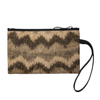 Icelandic wool pattern coin purses
