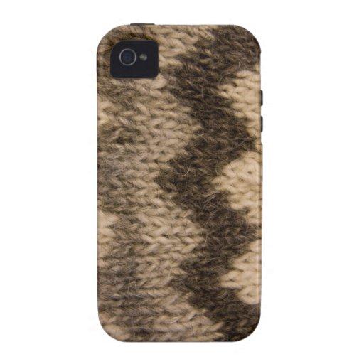 Icelandic wool pattern vibe iPhone 4 cases