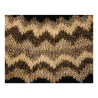 Icelandic wool pattern custom flyer