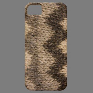 Icelandic wool pattern iPhone 5 covers