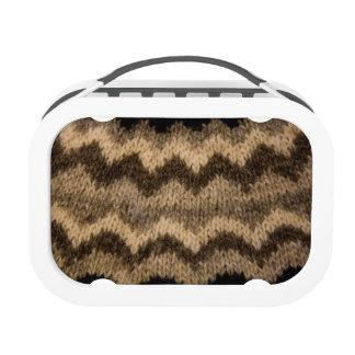 Icelandic wool pattern yubo lunchbox