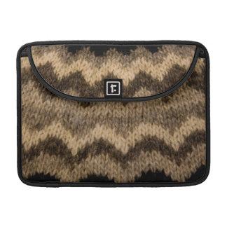 Icelandic wool pattern sleeves for MacBook pro