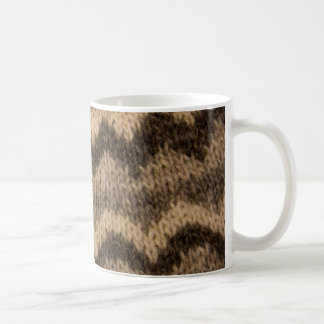 Icelandic wool pattern coffee mug