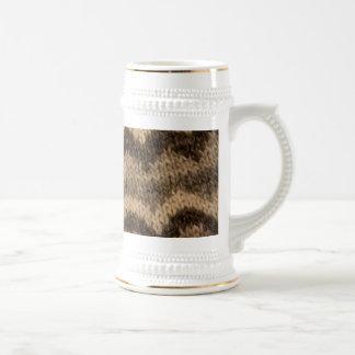 Icelandic wool pattern mug