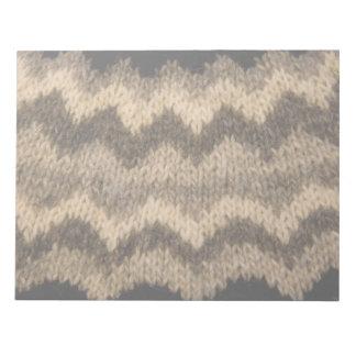 Icelandic wool pattern scratch pad