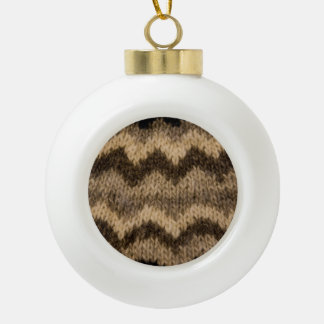 Icelandic wool pattern ornaments