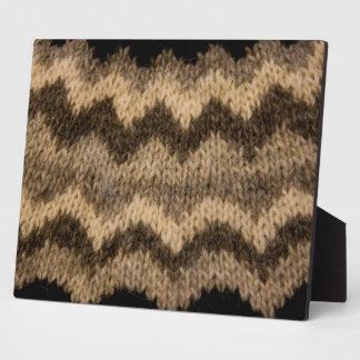 Icelandic wool pattern plaques