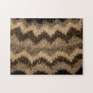 Icelandic wool pattern puzzles