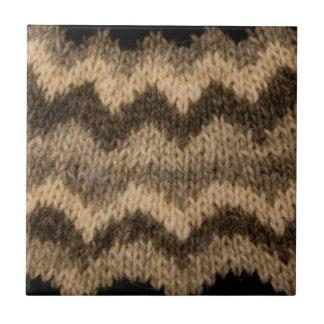 Icelandic wool pattern tile