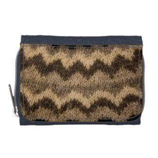 Icelandic wool pattern wallets