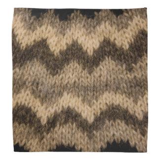 Icelandic wool pattern bandanas