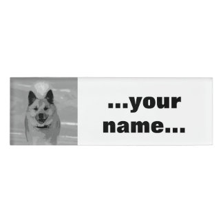 IcelandicSheepdog20151203 Name Tag