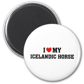Icelantic Horse Refrigerator Magnet