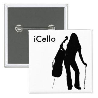 iCello Pin (white)