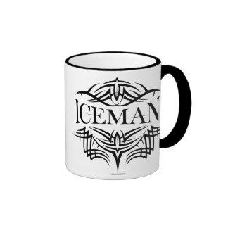 Iceman tribal del hockey (llano) taza