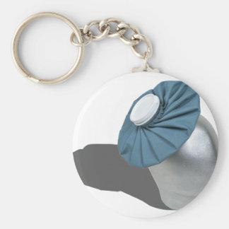 IcePackOnHead022111 Keychain