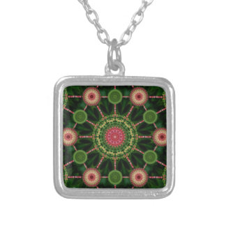 Iceplant Mandala Array Christmas Necklace