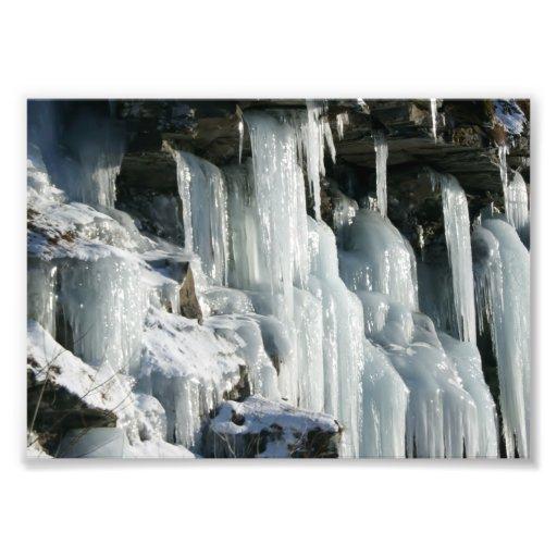 Icesickles 5x7 Photograph