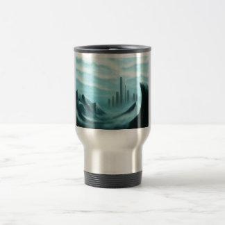 iceworld fantasy landscape travel mug