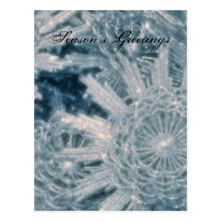 Icey stars postcard