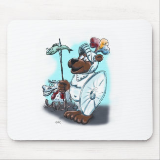 Ich bestell mir eine Ritterrüstung im Internet. Mouse Pad