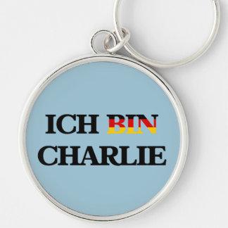 ICH BIN CHARLIE KEYCHAIN