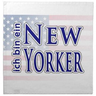 """""""ich bin ein New Yorker"""" Napkin"""