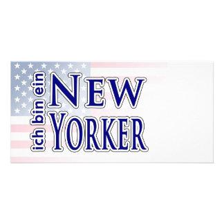 ich bin ein New Yorker Picture Card