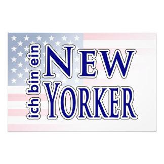 """""""ich bin ein New Yorker"""" Photo Print"""